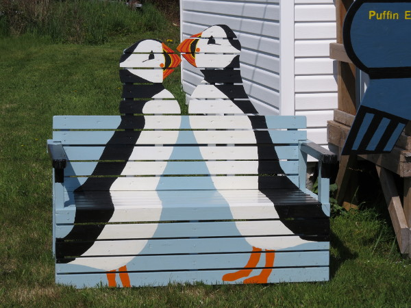 Puffin Bench